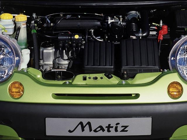 Диагностика двигателя Daewoo Matiz