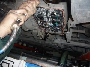 Замена масла в АКПП Daewoo